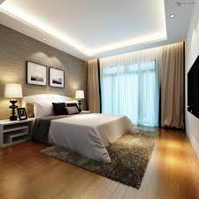 Modern Bedroom Curtains Modern Bedroom With Tv Bed Rug Pillows Lamps Frames In Ideas