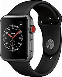 Apple Watch Pricing Chart Apple Watch Series 3 Gps Cellular 42mm Space Gray