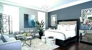 decoration dark gray accent wall living room grey blue bedroom master