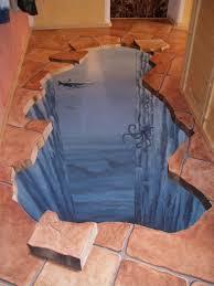 Werden sie durchgängig sowohl für wände, fußboden und duschbereich verwendet, lässt dies den raum ebenfalls größer wirken. 3d Wandmalerei 3d Boden Raumkunste 3d Wall Painting Floor Art 3d Flooring