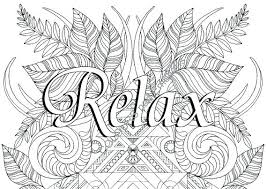 Adult Coloring Page Creative Quotes Coloring Book Plus Relax