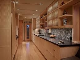 Contemporary Galley Kitchen Modern Wooden Cabinets Modern Wooden Cabinet Designs For Kitchen