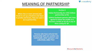 Meaning Features Of Partnership