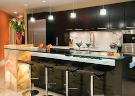 Dark Laminate Flooring In Kitchen Bar Table Design Ideas Stainless Steel Undermounted Bar Sink