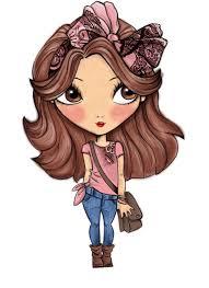 Girl Transparent Png Cartoon Girl Fashion Transparent Png Stickpng