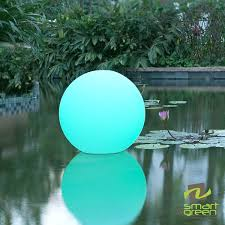 smart green ball lamps give us crazy outdoor lighting ideas electronic house