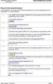 interview schedule templates premium templates record interview schedule information template