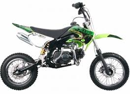 coolster 125cc deluxe pit dirt bike calif legal 4 speed manual
