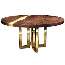 oval wood table 6 round table contemporary design solid wood table