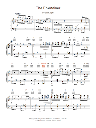 See more ideas about alto sax sheet music, sheet music, free sheet music. Scott Joplin The Entertainer Sheet Music Download Printable Pdf Film Tv Music Score For Piano Solo 15884