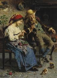 artnet galleries advice from grandpa by eugenio zampighi from burlington paintings