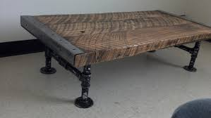 distressed industrial furniture. Distressed Industrial Furniture Customizable Coffee Table Old Barnwood D