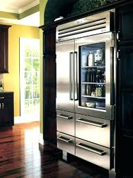 beverage refrigerator glass front cooler used with door in cabinet 2 mini beer bottle commercial refrigerato