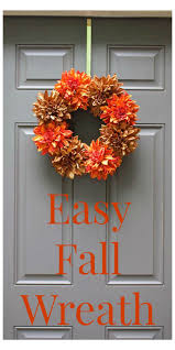 Fall Wreath Best 25 Easy Fall Wreaths Ideas Only On Pinterest Fall Wreaths