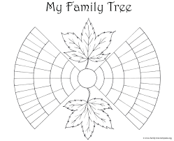 Coloring Free Fillable Genealogy Forms
