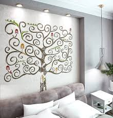 Wall Tree Stencil Designs Fantasy Tree Stencil For Walls Large Tree Wall Stencil