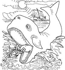Small Picture Jonah Get Out from Whale Stomach in Jonah and the Whale Coloring