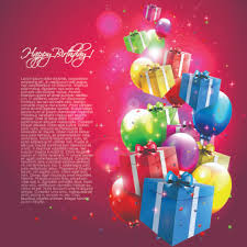 Happy Birthday Wishes Card Free Vector Download 15 745 Free Vector