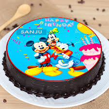 mickey mouse birthday cakes in india