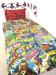 marvel comics heroes single duvet cover set superhero duvet cover set