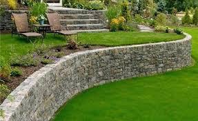 backyard rock wall backyard rock garden retaining wall design ideas back yard backyard rock retaining wall
