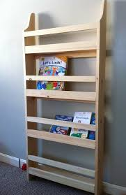 white book rack. Beautiful White Make Your Own Wall Book Rack From Pine Boards Inspired By Pottery Barn Kids  Easy Diy Plans ANAWHITEcom Throughout White Book Rack S