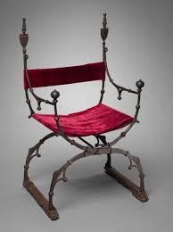 curule folding chair c 1450 1500 italy florence 15th century at the cleveland museum of art