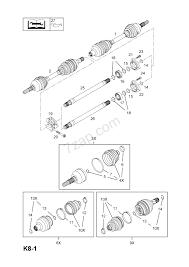 Car drive shaft diagram front axle drive shaft z17dtj lpv a17dtj lpv