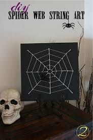DIY Spider Web String Art