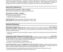 Sample Charge Nurse Resume Afterelevenblog Com