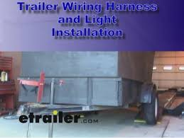 instructions for completely rewiring a 14 foot tandem axle dump 7-Way Trailer Plug Wiring Diagram trailer wiring and light replacement demonstration