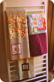 Repurpose old crib sides as a quilt rack. Have one in my living ... & Repurpose old crib sides as a quilt rack. Have one in my living room already Adamdwight.com