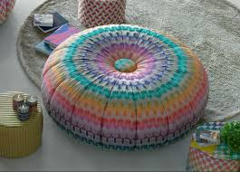 missoni home puntaspillone pouf  missoni home furniture