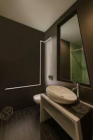 bathroom led lighting ideas. LED Strip Lighting Built Into The Wall Of This Bathroom How Cool! Led Ideas