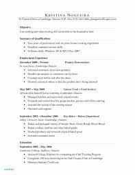 Baker Resume Examples 30 Best Line Cook Resume Examples Resume