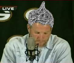 tin foil on my head hgh in pro football  brett favre announces retirement