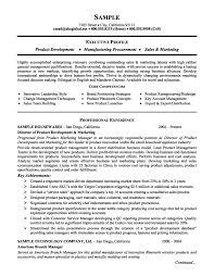 Gallery Of Marketing Resume Templates