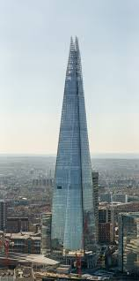 The Shard in London by Renzo Piano, 2012