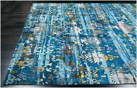 blue and gold rugs rug uk area brown contemporary tribal modern sari silk blue and gold area rug