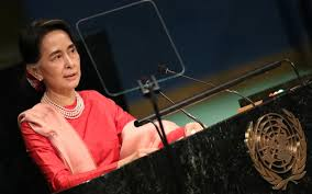 famed new yorker magazine terms aung san suu kyi the ignoble  file photo shows myanmar s de facto leader and minister of foreign affairs aung san suu kyi