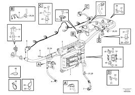 Ec480d cable harness engine ecu s n 210001 260001 270001 280001 8290246 8290247 autodata volvo online