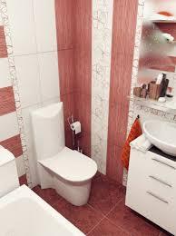 Bathroom Designs: Brown Mosaic Bathroom Tile - Twin Sinks