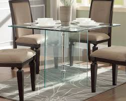 square glass dining table. Homelegance Alouette Square Glass Dining Table L
