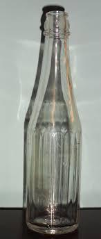 Vintage glass bottling company