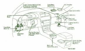 2000 camry le fuse box 2000 wiring diagrams