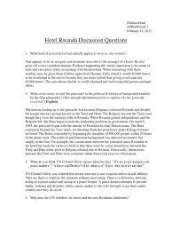 hotel rwanda discussion questions hutu rwanda
