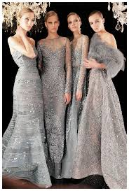 gray dresses for weddings. i\u0027m more inclined to have these gorgeous silver bridesmaid dresses for an elegant winter wedding. gray weddings e