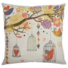 Decorative Pillows With Birds