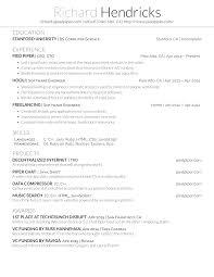Latex Resume Generator Professional Pinterest Resume