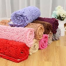chenille bathroom rugs new big microfiber bath mats soft fortable chenille material photos
